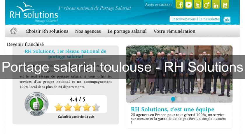 Portage salarial toulouse - RH Solutions