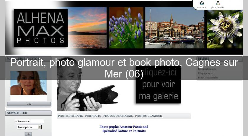 Portrait, photo glamour et book photo, Cagnes sur Mer (06)
