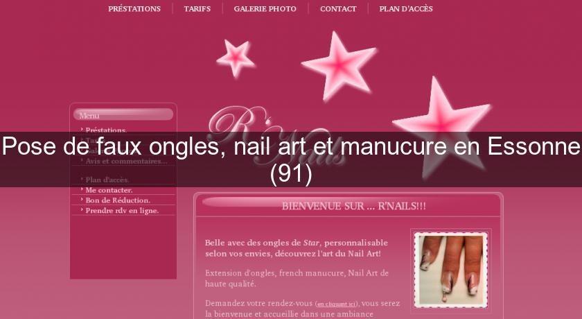 De Essonne91Soin Pose Et OnglesNail Manucure En Art Faux O8wvmN0ny