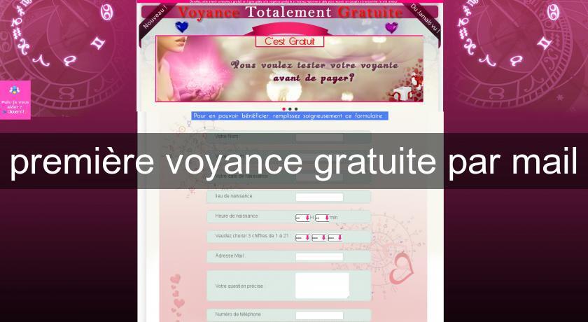 première voyance gratuite par mail Voyance aac5f3cef3bd