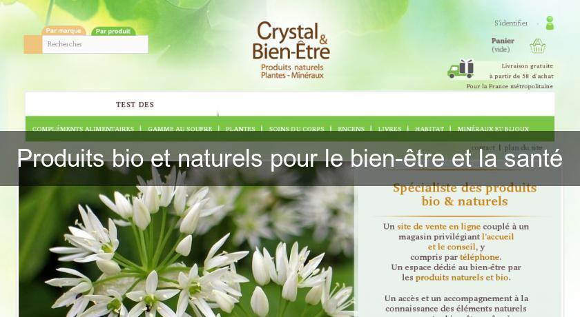 46ec404e264 Produits bio et naturels pour le bien-être et la santé Produits bio
