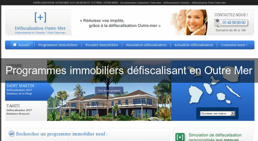 investissement immobilier outre mer