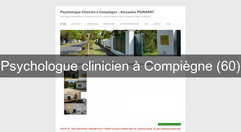 Psychologue clinicien à Compiègne (60)