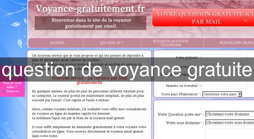 question de voyance gratuite Horoscope b970a7c0e0d1