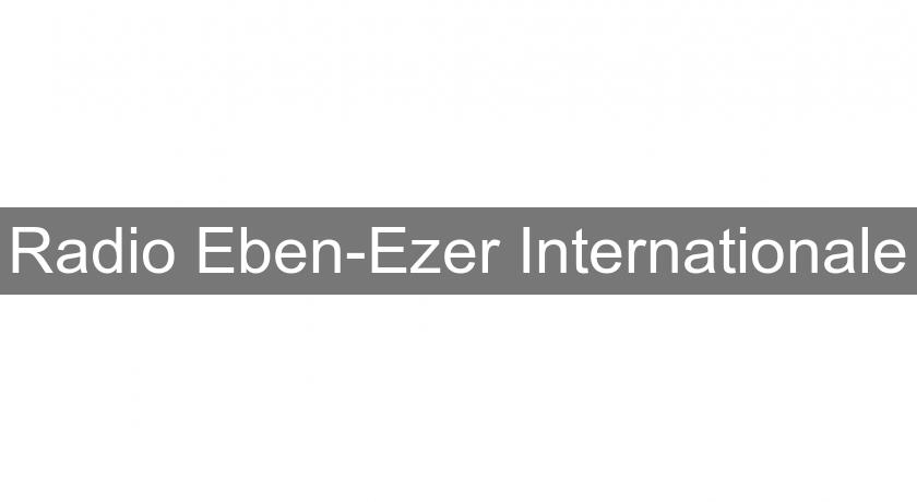 Radio Eben-Ezer Internationale