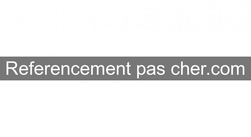 Referencement pas cher.com