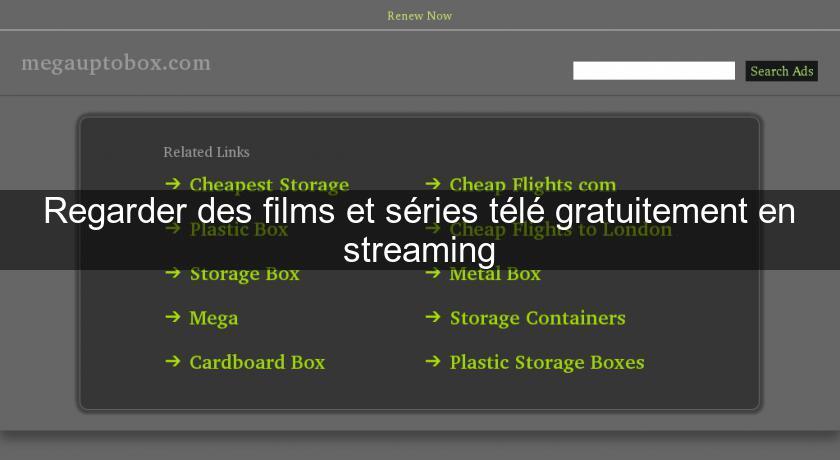 regarder des films et s ries t l gratuitement en streaming s rie t l. Black Bedroom Furniture Sets. Home Design Ideas