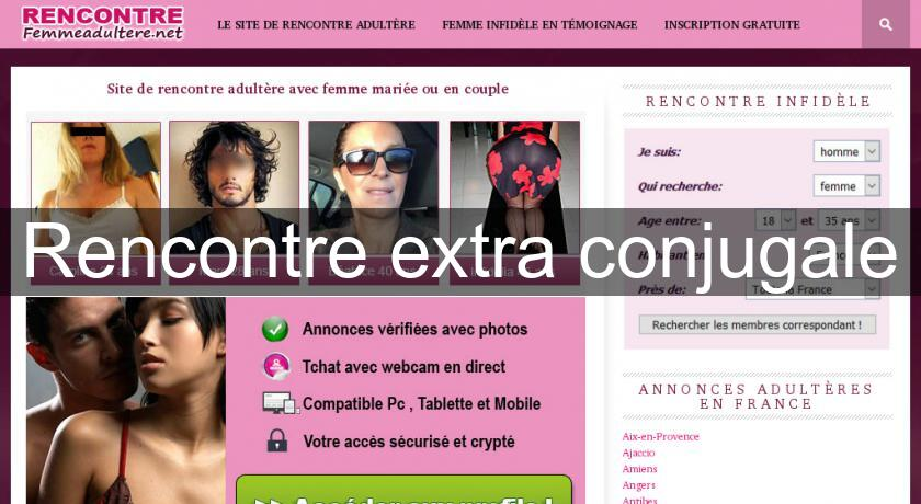 annonce extraconjugale