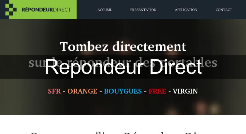Repondeur Direct