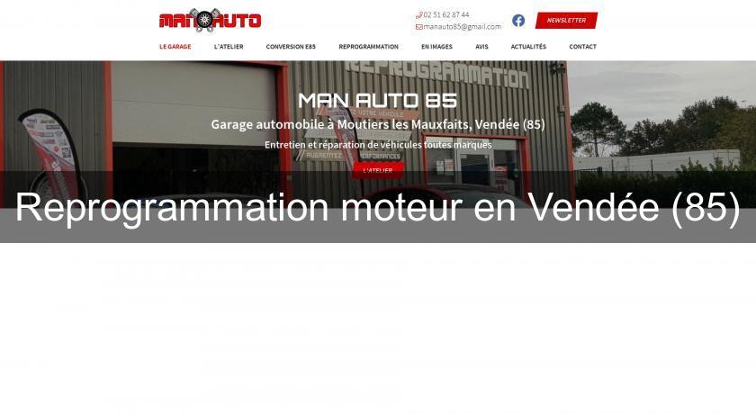 Reprogrammation Moteur En Vendée 85 Mécanique