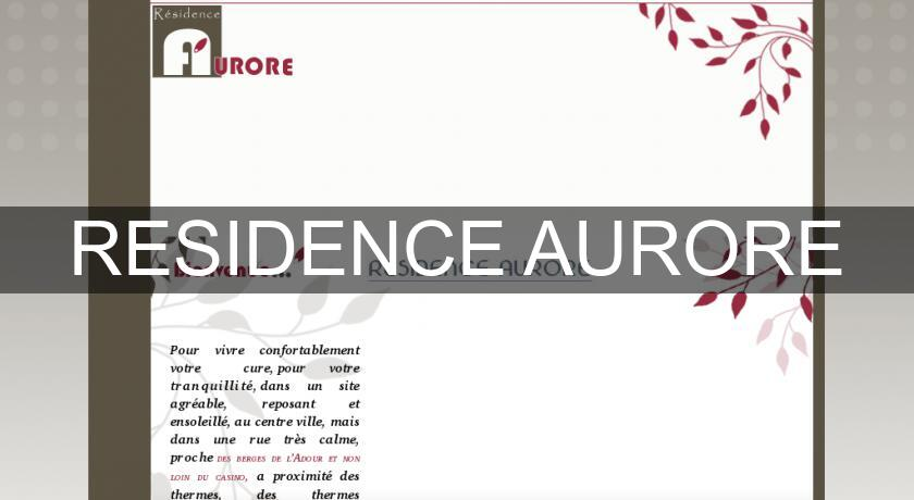 RESIDENCE AURORE