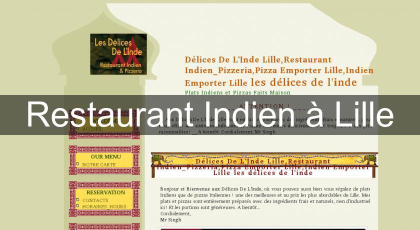 Restaurant Indien à Lille Restaurants Indiens