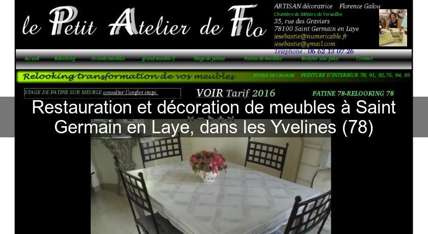 Restauration Et Decoration De Meubles A Saint Germain En Laye Dans Les Yvelines 78 Artisan Restaurateur