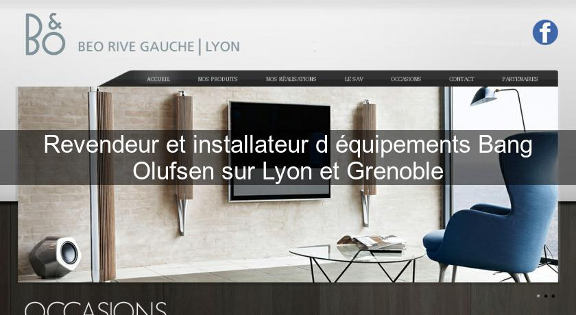 revendeur et installateur d 39 quipements bang olufsen sur lyon et grenoble combi tv. Black Bedroom Furniture Sets. Home Design Ideas