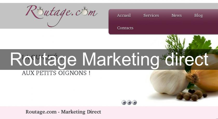 Routage Marketing direct