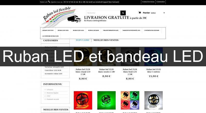 Ruban LED et bandeau LED