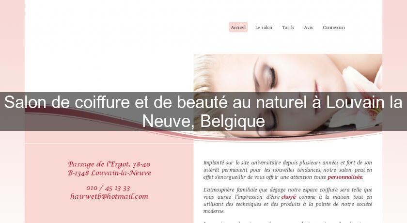 Salon de coiffure et de beaut au naturel louvain la neuve belgique coiffure - Jeux de salon de coiffure et beaute ...