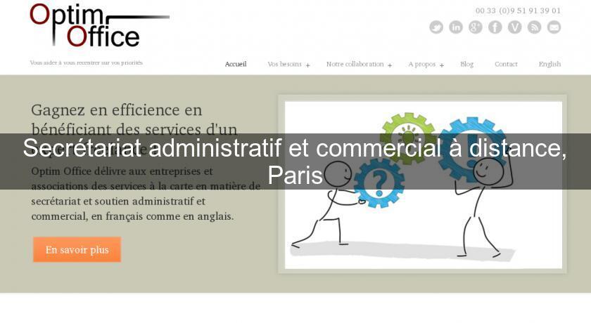 e4ca70bd2c0 Secrétariat administratif et commercial à distance