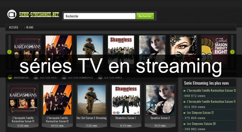séries TV en streaming