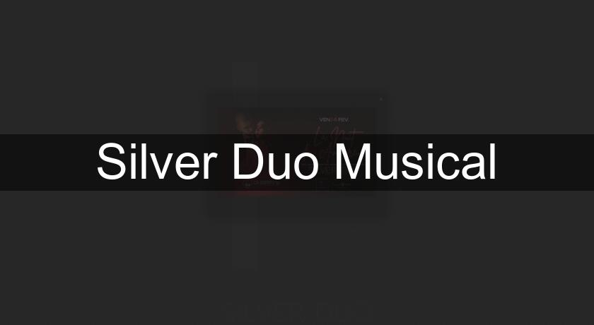 Silver Duo Musical Groupe Musique