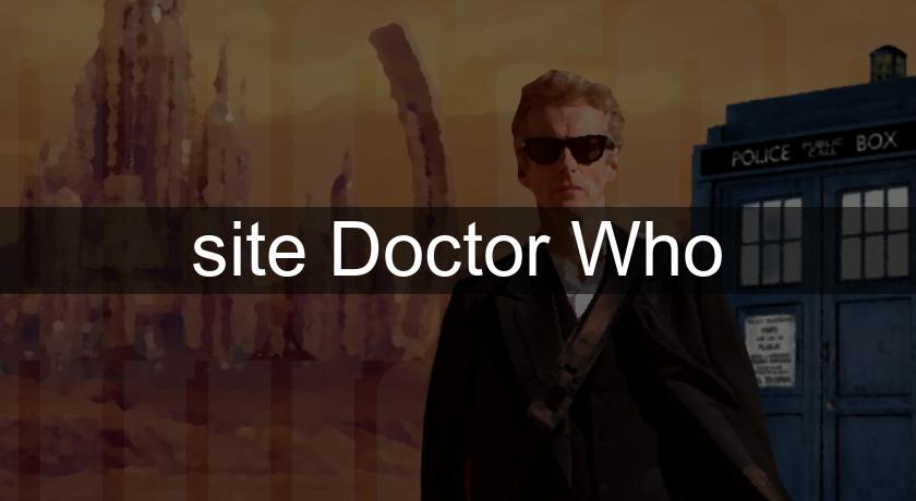 site Doctor Who