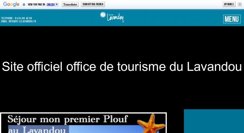 Site officiel office de tourisme du lavandou office de tourisme - Le lavandou office de tourisme ...