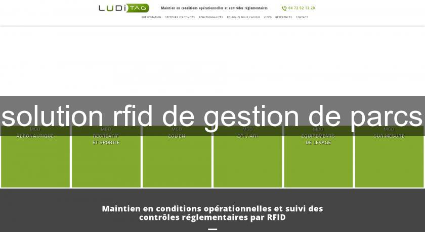 solution rfid de gestion de parcs