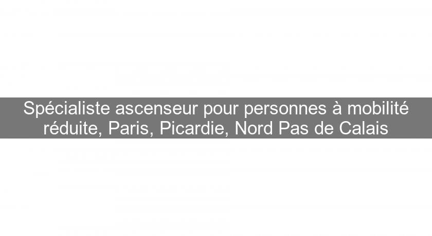 Specialiste Ascenseur Pour Personnes A Mobilite Reduite Paris