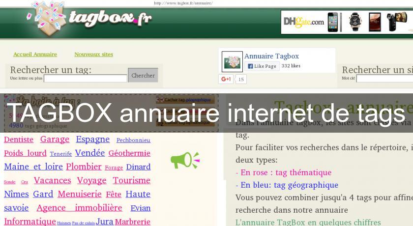 newest 8c214 43af2 TAGBOX annuaire internet de tags Annuaire web