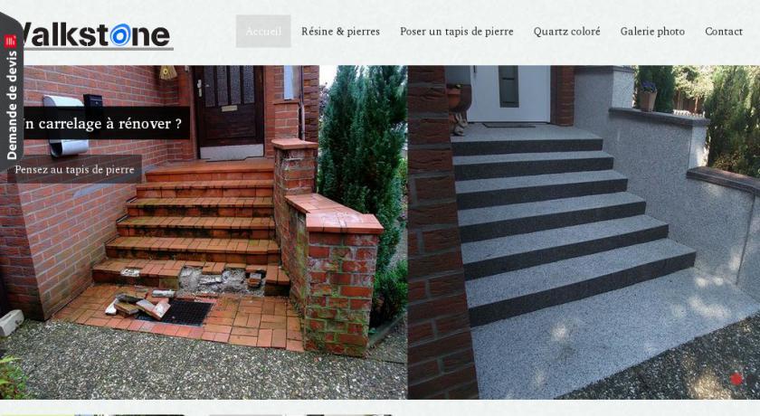 tapis de pierre pour terrasse ou sol int rieur mat riel bricolage. Black Bedroom Furniture Sets. Home Design Ideas