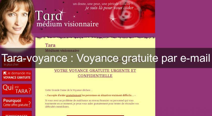 Tara-voyance   Voyance gratuite par e-mail Voyance 9ade1cd11139