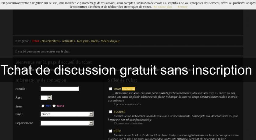 Tchat sans inscription dialova