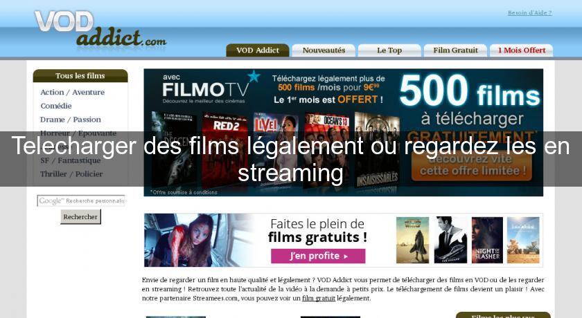 Telecharger des films l galement ou regardez les en for Sites web pour concevoir des maisons gratuitement