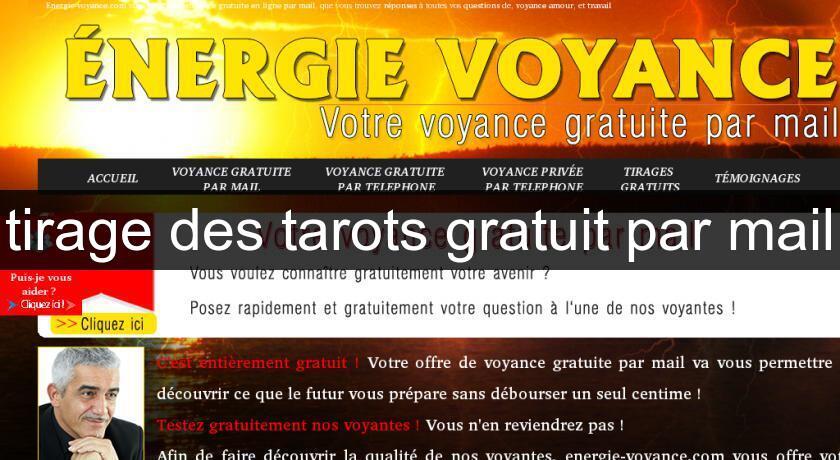 01ff21f7303f4 tirage des tarots gratuit par mail Tarots