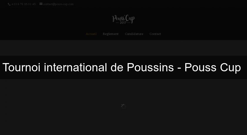 Tournoi international de Poussins - Pouss'Cup
