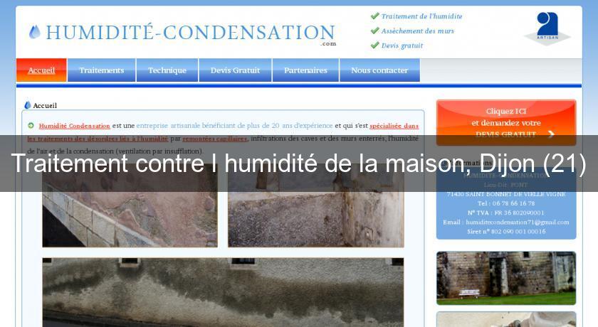 Traitement contre l 39 humidit de la maison dijon 21 travaux renovation - Plante contre l humidite dans la maison ...