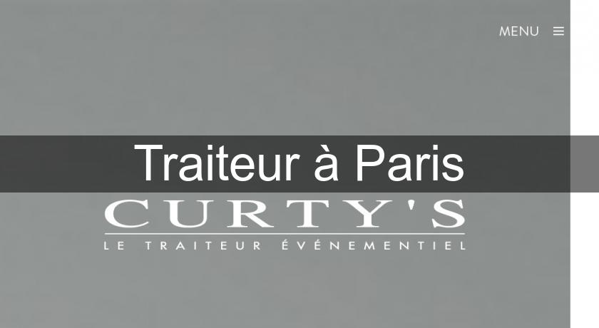 Traiteur à Paris