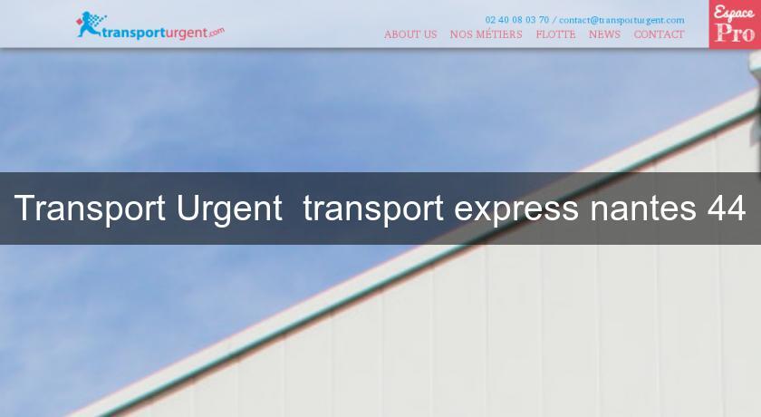 transport urgent transport express nantes 44 services aux entreprises. Black Bedroom Furniture Sets. Home Design Ideas