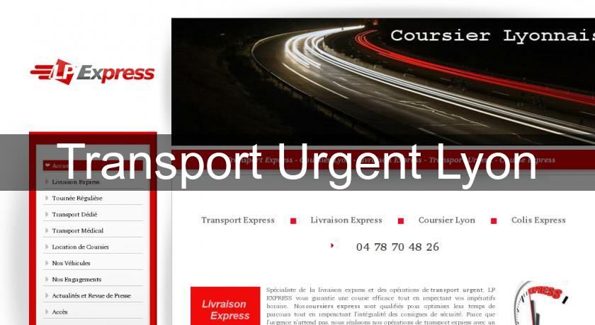 Transport Urgent Lyon