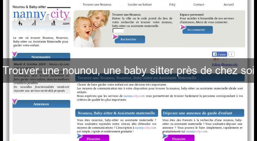 Trouver Une Nounou Une Baby Sitter Près De Chez Soi Garde