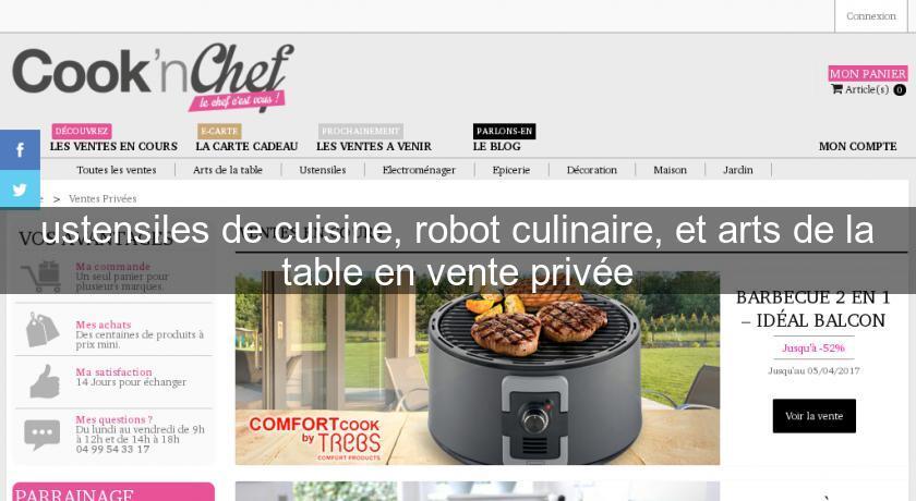 Ustensiles De Cuisine Robot Culinaire Et Arts De La Table En