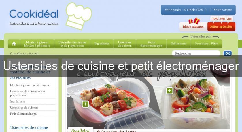 Ustensiles de cuisine et petit lectrom nager mat riel cuisine for Le petit materiel de cuisine