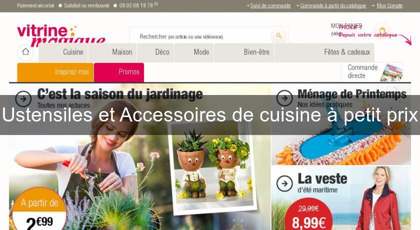 Ustensiles et accessoires de cuisine petit prix for Ustensiles de cuisine grenoble