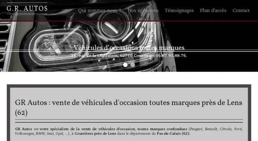 V hicule d 39 occasion toutes marques lens 62 m canique for Garage auto goussainville