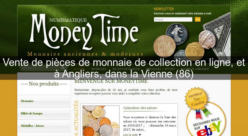 vente de pi ces de monnaie de collection en ligne et angliers dans la vienne 86 numismatique. Black Bedroom Furniture Sets. Home Design Ideas