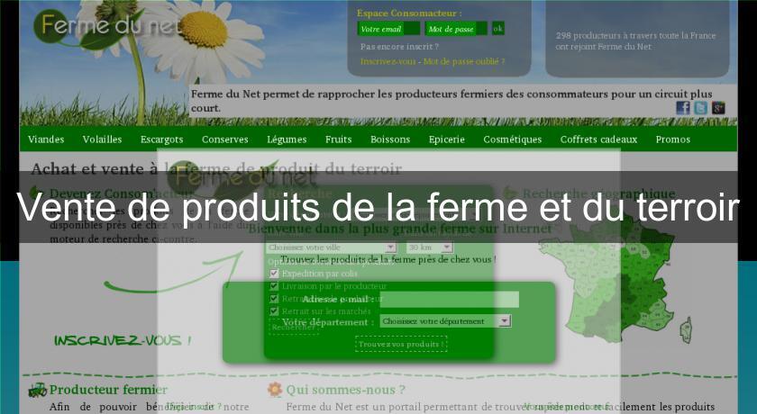da46d2d147a Vente de produits de la ferme et du terroir Produits bio