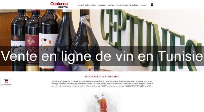 Vente En Ligne De Vin En Tunisie Cave A Vin