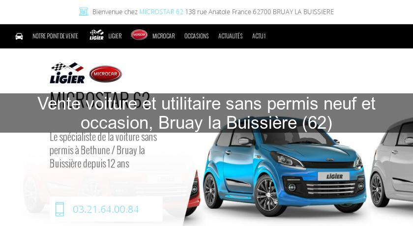 Garage voiture sans permis occasion bethune for Garage auto sans rdv