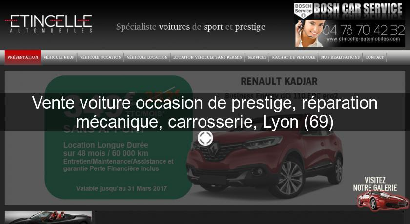 Vente voiture occasion de prestige r paration m canique for Garage mecanique lyon
