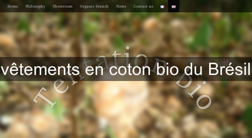 b8cdc0e1e2 vêtements en coton bio du Brésil Pret à Porter Femme